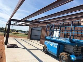 30' X 50' Steel Building6